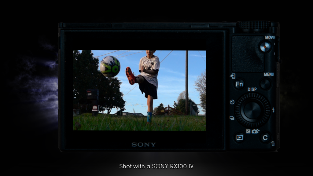 Soccer - Sony Commercial SCREENSHOT